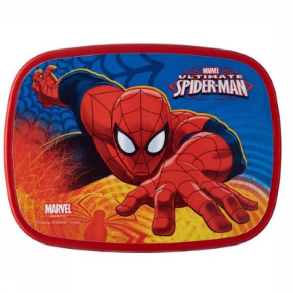 Storage Jar Lunchbox Midi Ultimate Spiderman